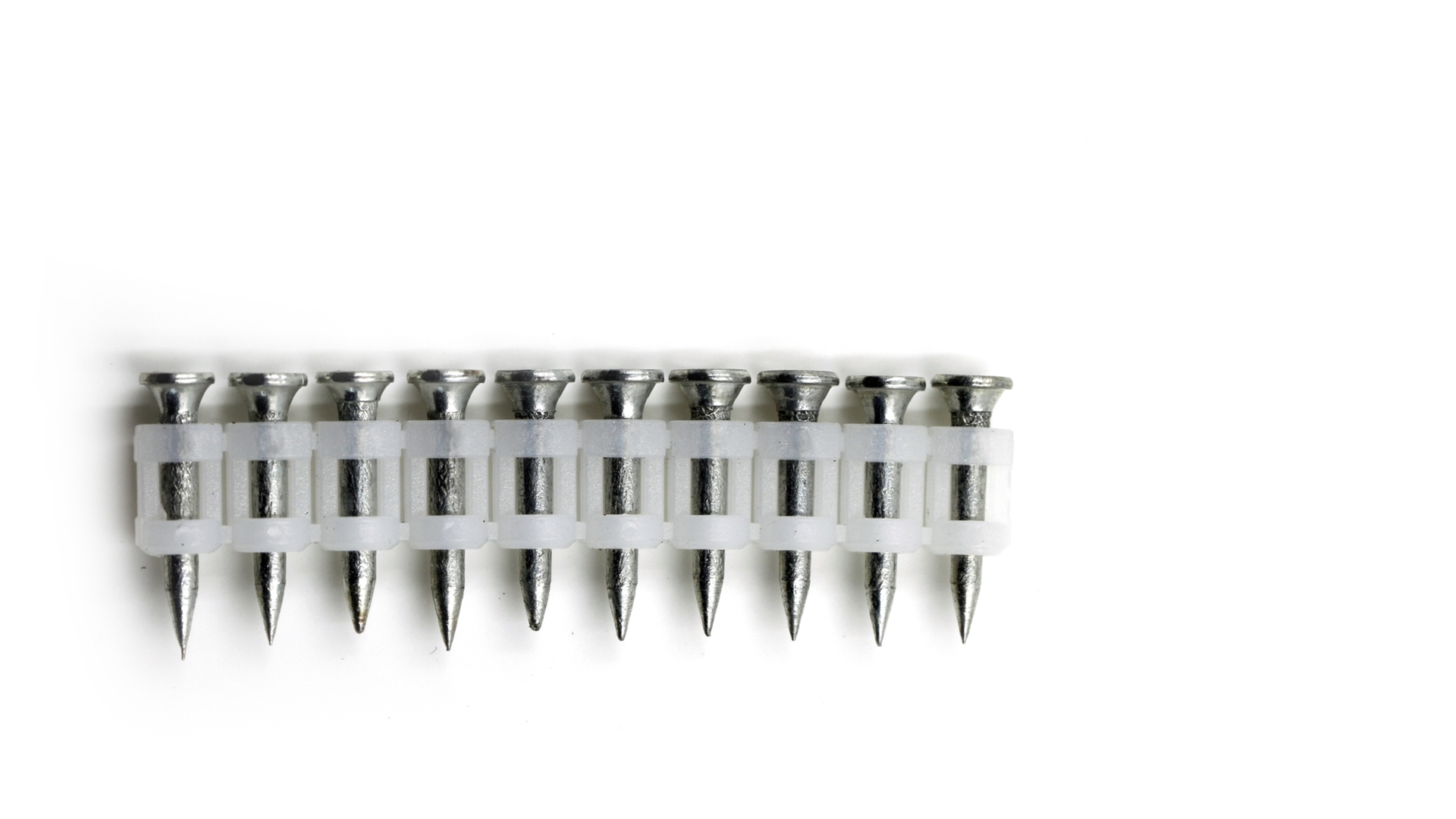 Fluted Gas Drive Pin Concrete Nails DN Type Galvanized Steel Nail