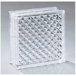 190mm*190mm*80mm Clear Security Glass Block