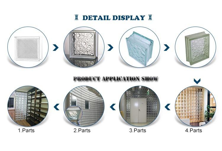 security glass block overseas market factory