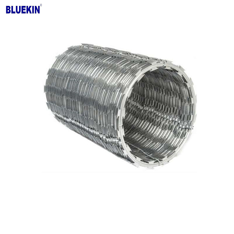 Galvanized Concertina Razor Wire Price Knitted Wire Mesh