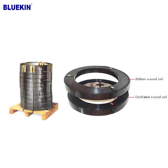 Packing Application Mild Steel Black Packing Metal Strapping