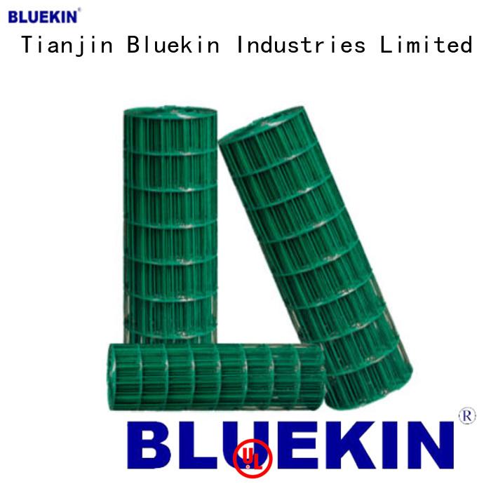 Bluekin plastic ss woven wire mesh marketing outdoor