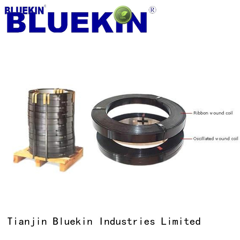 Bluekin security perforated steel strapping marketing factory