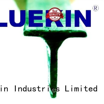 iron square fence post industry farm Bluekin