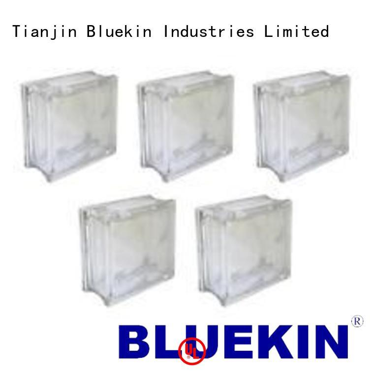 Bluekin Customization custom glass block marketing outdoor