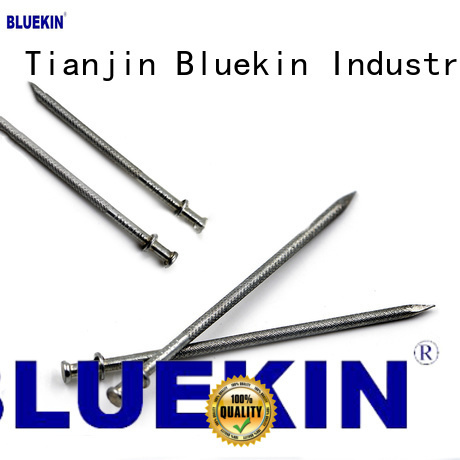 Bluekin quality headless nail bulk production garden