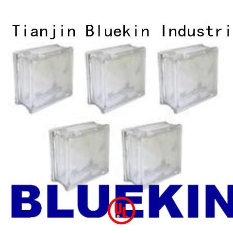 Oem decorative glass block industry factory