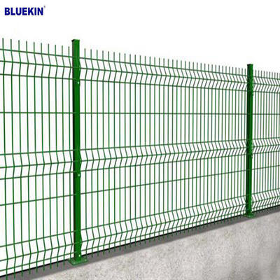 PVC  Fence Panles Welded Wire Mesh