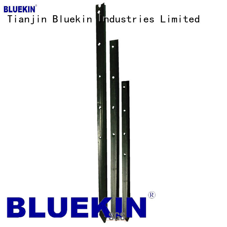 galvanized fence post outdoor Bluekin