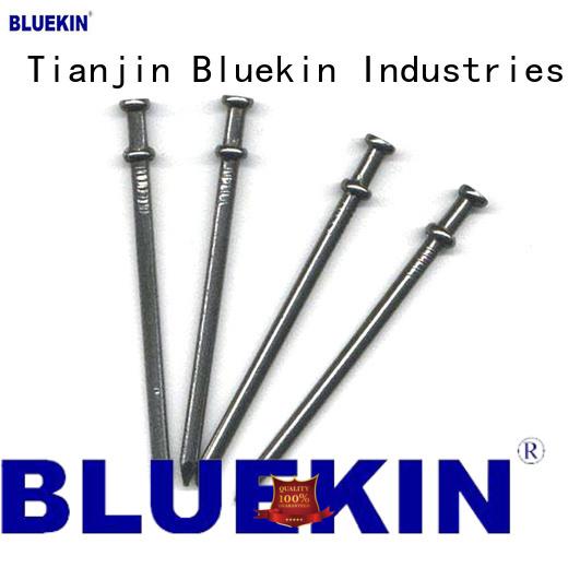 Bluekin double head nail industry garden