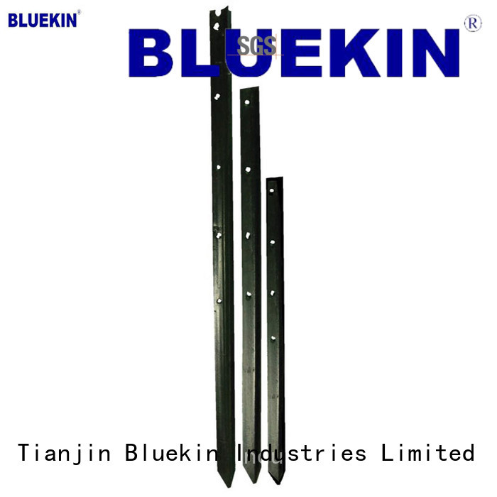 Bluekin pvc steel fence posts marketing Fence