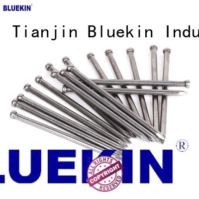 Bluekin custom galvanized steel nail overseas market