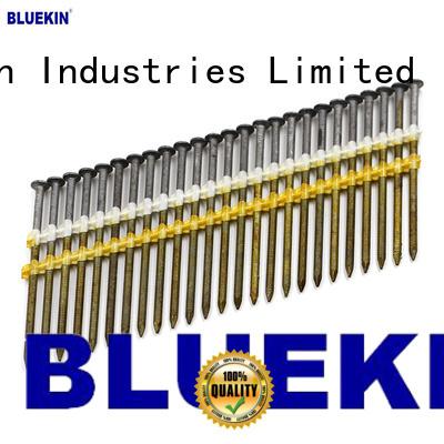Bluekin custom headless nail industry factory