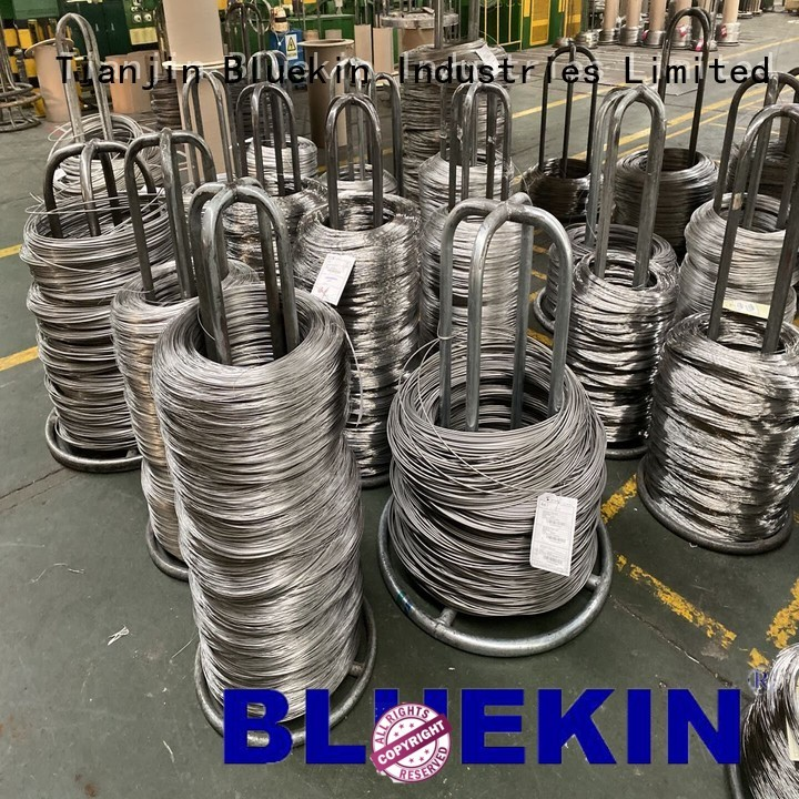 Bluekin High-quality stainless steel spring wire sizes company